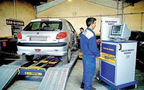 مراجعه بیش از ۱.۵ میلیون خودرو به مراکز معاینه فنیدر سال گذشته