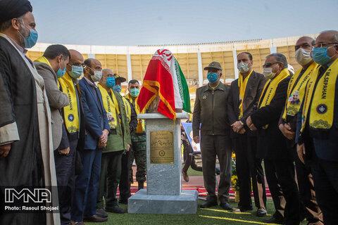 مراسم رونمایی از تندیس شهید سردار سلیمانی