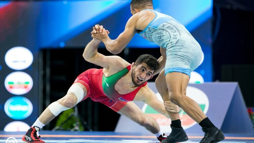 شکست نماینده ایران در مسابقات کشتی آزاد جام پلیکونه