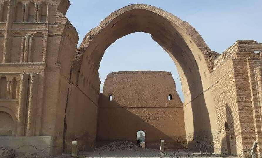 ایران طاق کسرا را مرمت می کند