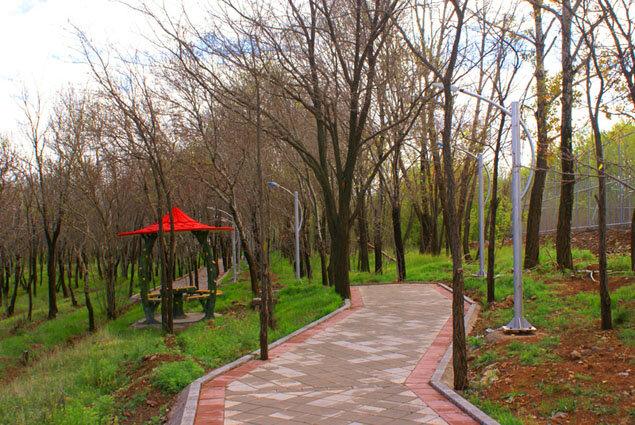 پارکهای زنجان را حصارکشی نکنید!