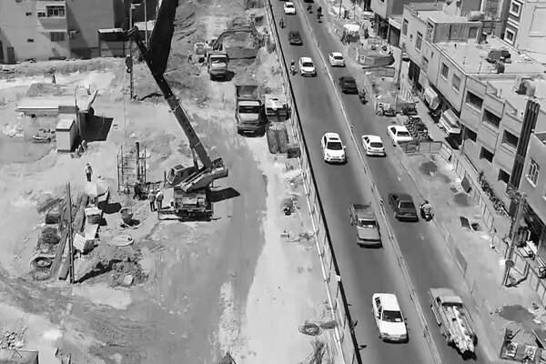 پیشرفت ۳۲ درصدی پروژه تقاطع غیر همسطح خلیجفارس