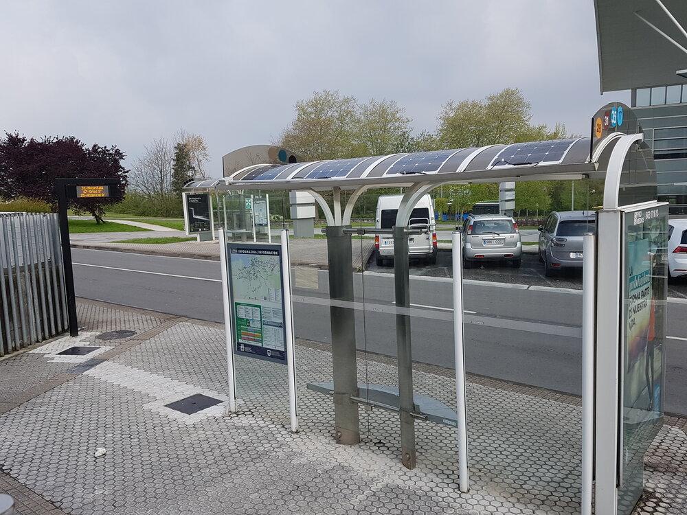 ایستگاههای اتوبوس دوستدار طبیعت در لهستان