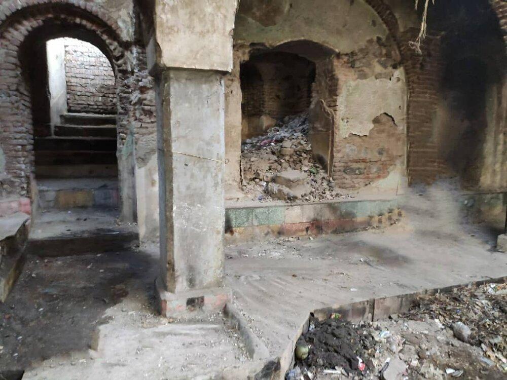 آغاز ساماندهی حمام تاریخی عدل مشگین شهر