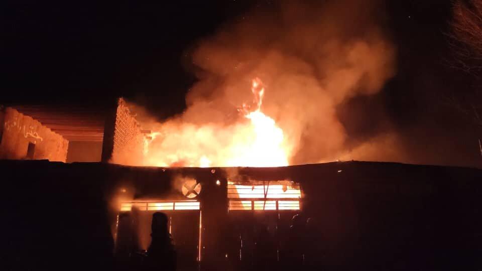 آتشسوزی خانه ویلایی در تالش مهار شد