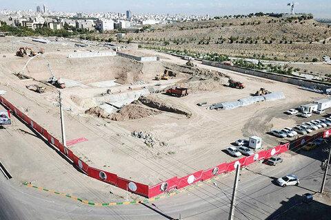 پیشرفت ۴۰ درصدی پردیس تئاترشهر مشهد