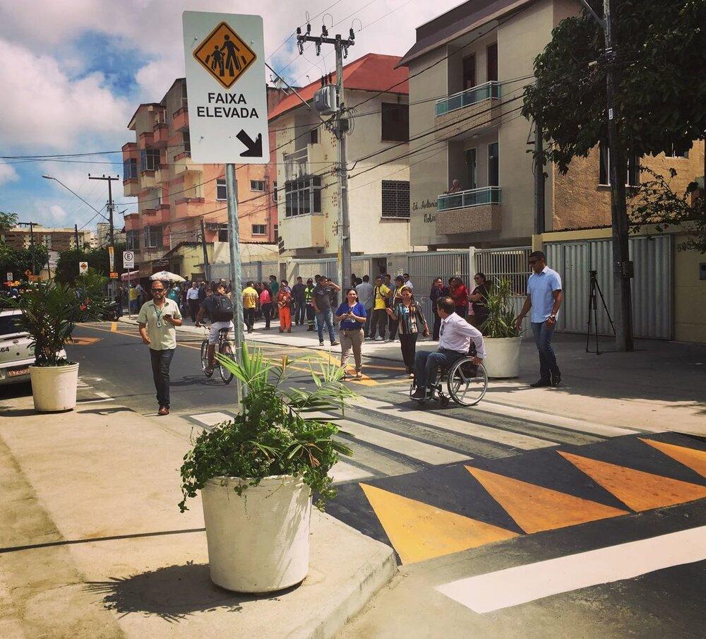 ایمنسازی تردد در خیابانهای برزیل