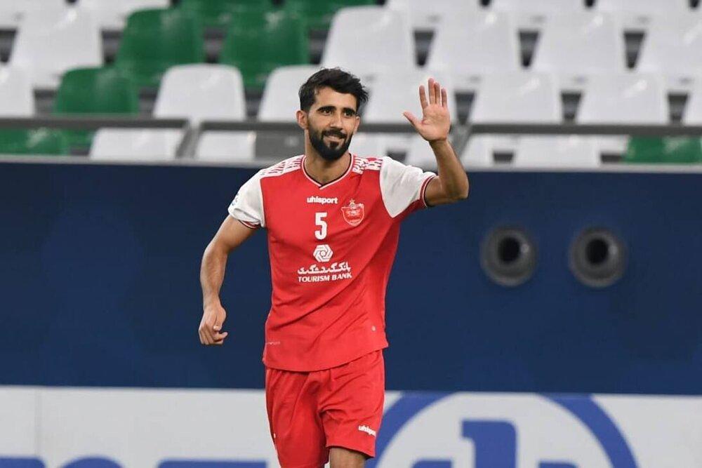 هافبک پرسپولیس در جمع بهترین هافبک لیگ قهرمانان آسیا