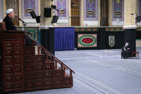 مراسم عزاداری شام شهادت حضرت فاطمه زهرا (س) در حسینیه امام خمینی (ره)