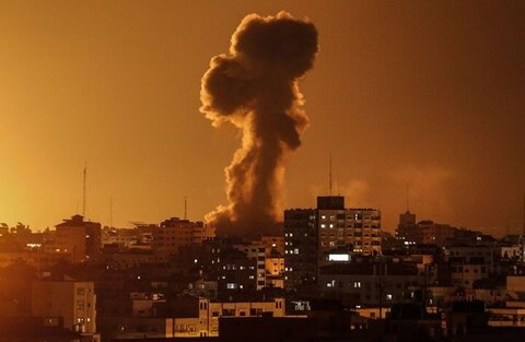 حمله رژیم صهیونیستی به اهدافی در غزه