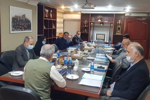 برگزاری جلسه هیات رئیسه فدراسیون فوتبال