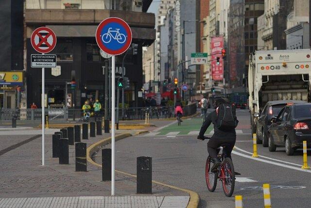 توسعه شبکه دوچرخهسواری آرژانتین در واکنش به کووید-۱۹