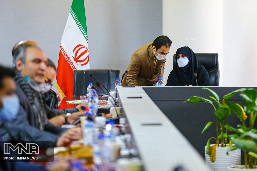 جلسه داوری طرحهای گذر تاریخی آقا نورالله نجفی اصفهان