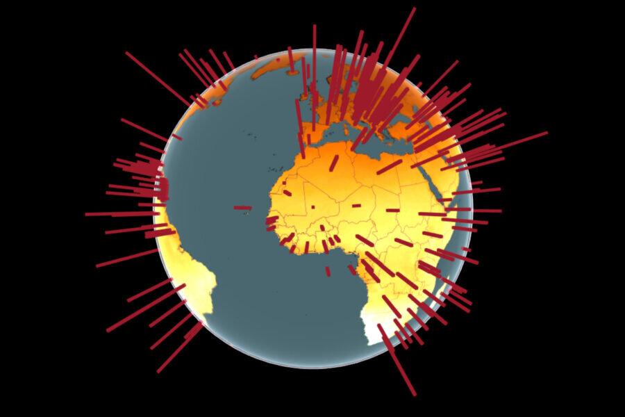 هرچه تابش اشعه UV بیشتر باشد، گسترش کووید ۱۹ کمتر است