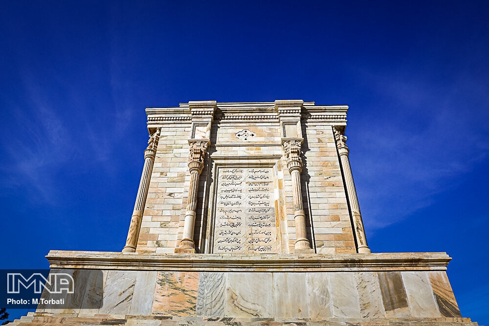 Tus homes tomb of renowned Iranian poet, Ferdowsi