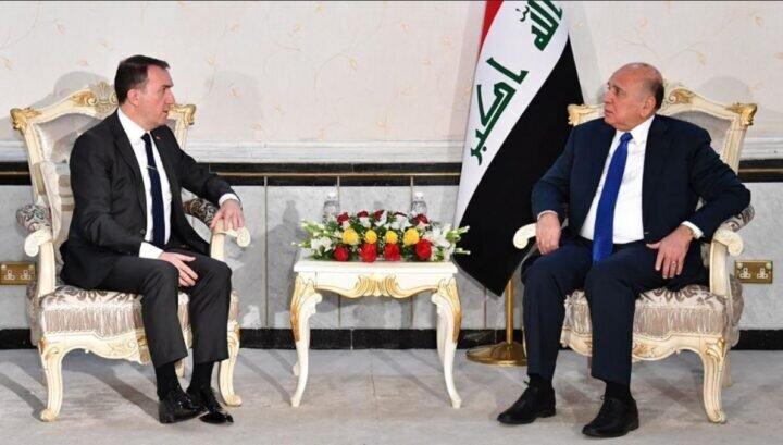 تاکید فواد حسین بر لزوم گشودن چشماندازهای جدید همکاری با ترکیه