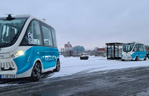 ظهور اتوبوسهای خودران در گوتنبرگ