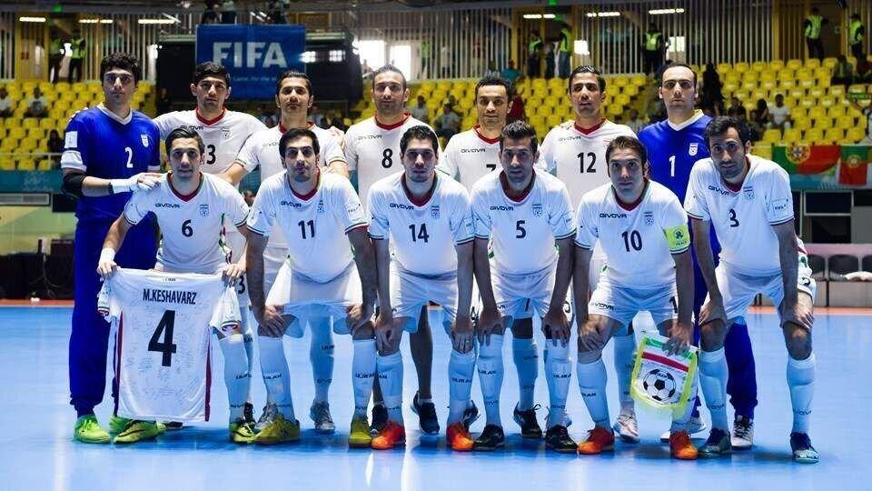 فوتسال ایران ششم جهان و اول آسیا