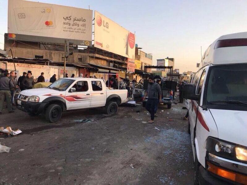 جزئیات انفجارهای امروز بغداد/ تعداد کشته ها به ۲۱ نفر رسید