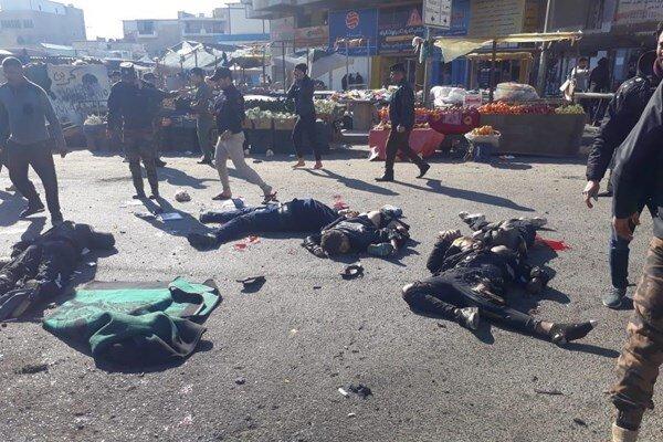 تعداد کشته شدگان انفجار بغداد به ۲۸ نفر رسید