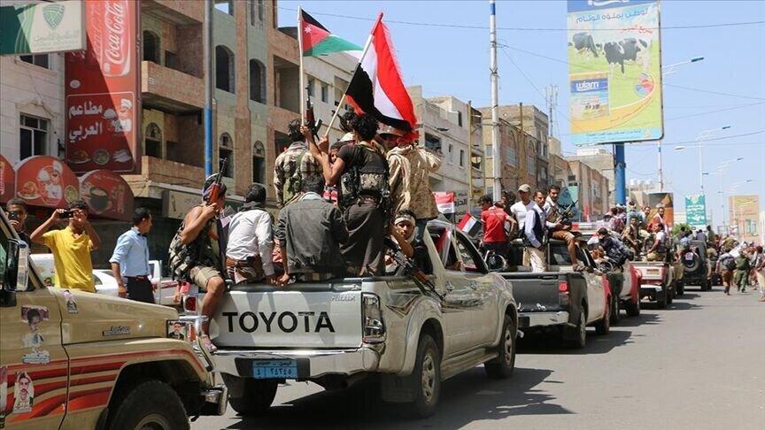 گروههای وابسته به عربستان و امارات در جنوب یمن درگیر شدند