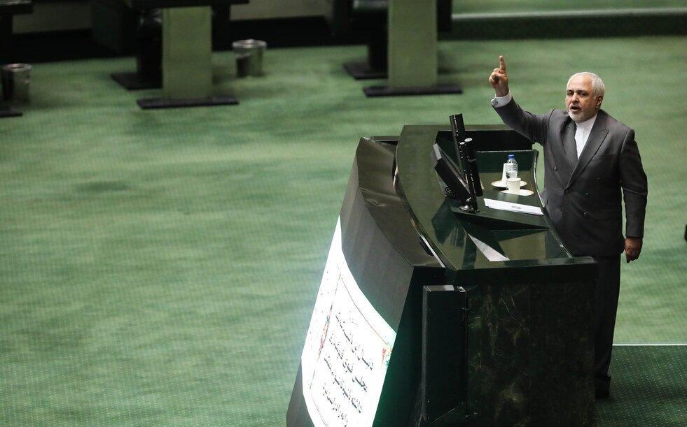 جلسه علنی برای حمله به ظریف