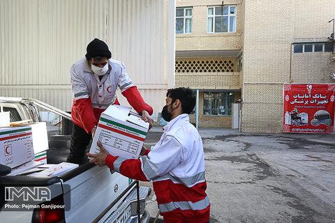 توزیع ۷ هزار و ۳۶۰ بسته غذایی در طرح فرشتگان رحمت