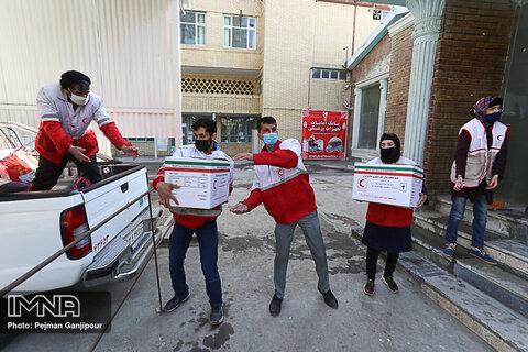 مشارکت خیران نیکوکار استان اصفهان در ۲۸ پروژه داوطلبی هلالاحمر