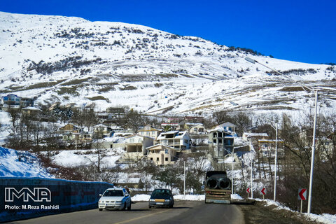 Heyran Pass in Iran