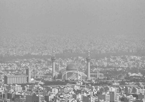 وضعیت هوای اصفهان نارنجی و برای گروههای حساس، ناسالم است
