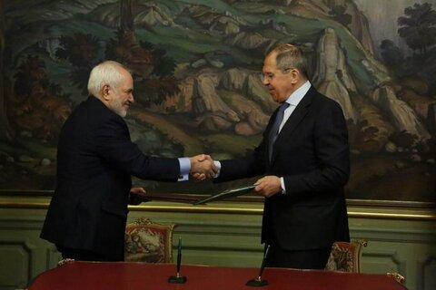 توضیحات ظریف از دیدار با وزیر امورخارجه روسیه