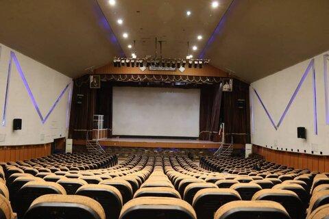 پیشرفت فیزیکی ۳۰ درصدی آمفی تئاتر فرهنگسرای بهرمان