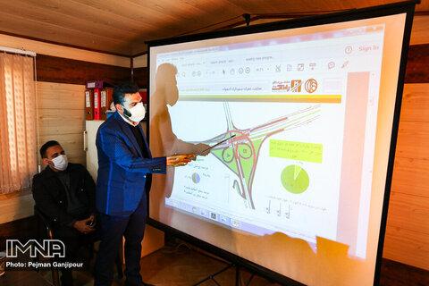 جلسه بررسی روند پیشرفت پروژههای عمرانی شهر