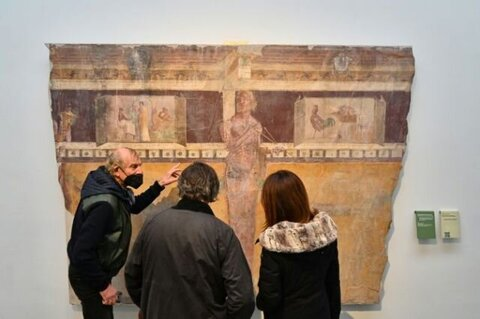 برگزاری نمایشگاهی از میراث پمپئی در ایتالیا