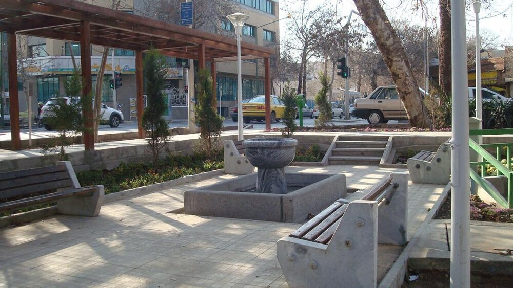 Isfahan welcomes first urban pocket park