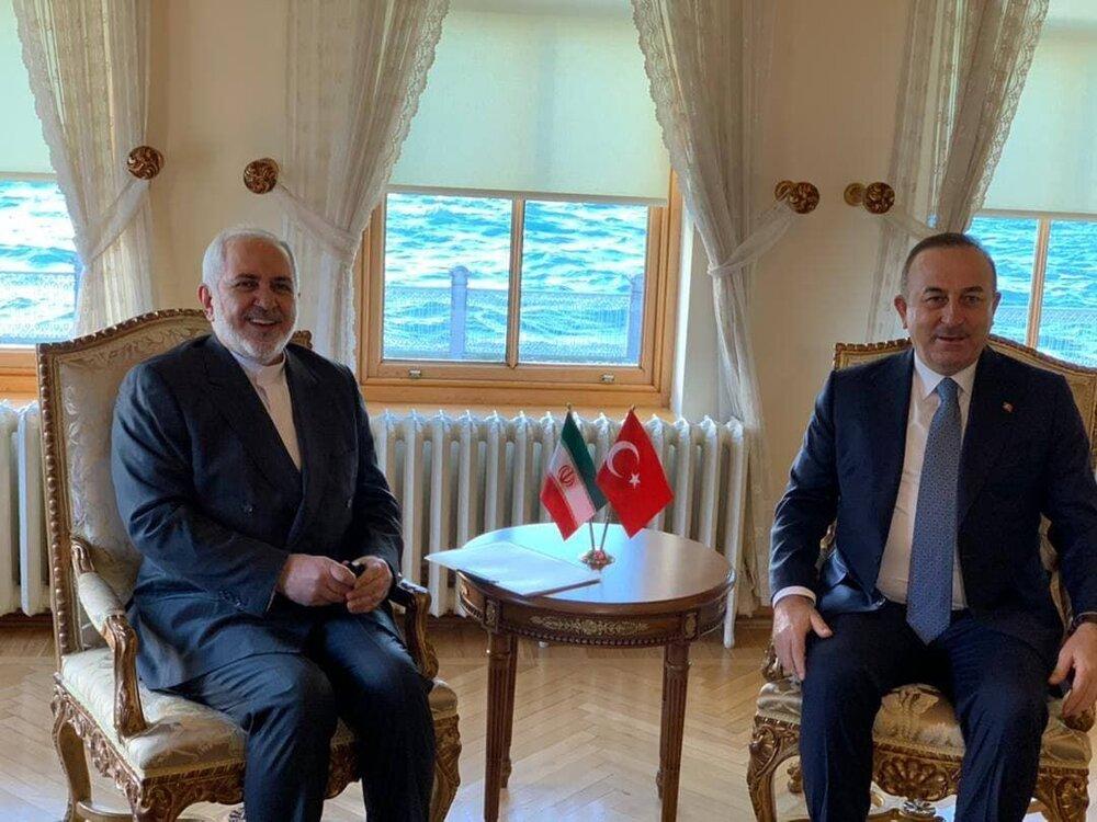 جزئیات دیدار ظریف با وزیر امور خارجه ترکیه