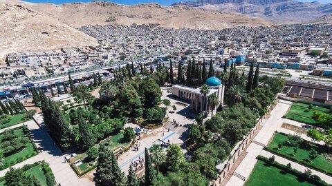 افزاش سرانه فضای سبز شهر شیراز