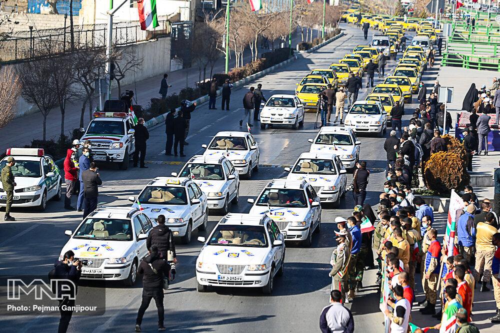 مراسم چهل و دومین سالگرد پیروزی انقلاب اسلامی