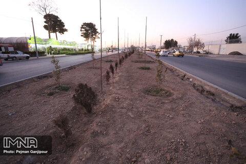 احداث خیابان روشن دشت تا پایان تیرماه تکمیل میشود