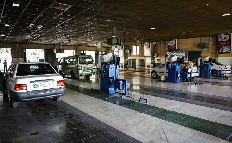مراجعه روزانه ٥٥٠٠ خودرو به مراکز معاینه فنی در تهران