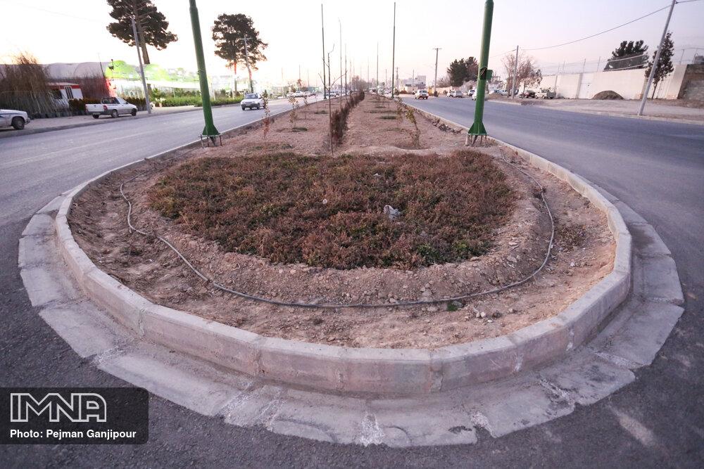 طرح ساماندهی چهار میدان شهر دامنه اجرا میشود