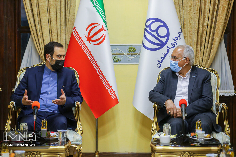 مرکز همایشهای بینالمللی اصفهان پروژهای بینظیر است