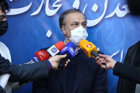 افتتاح چند طرح صنعتی و معدنی توسط وزیر صمت