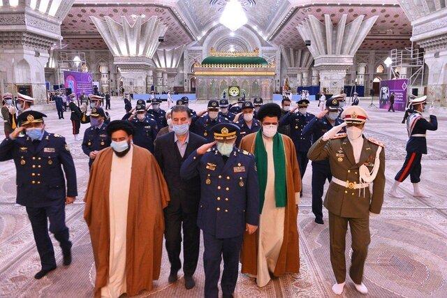 تجدید میثاق فرماندهان نیروی هوایی ارتش با آرمان های امام راحل(ره)