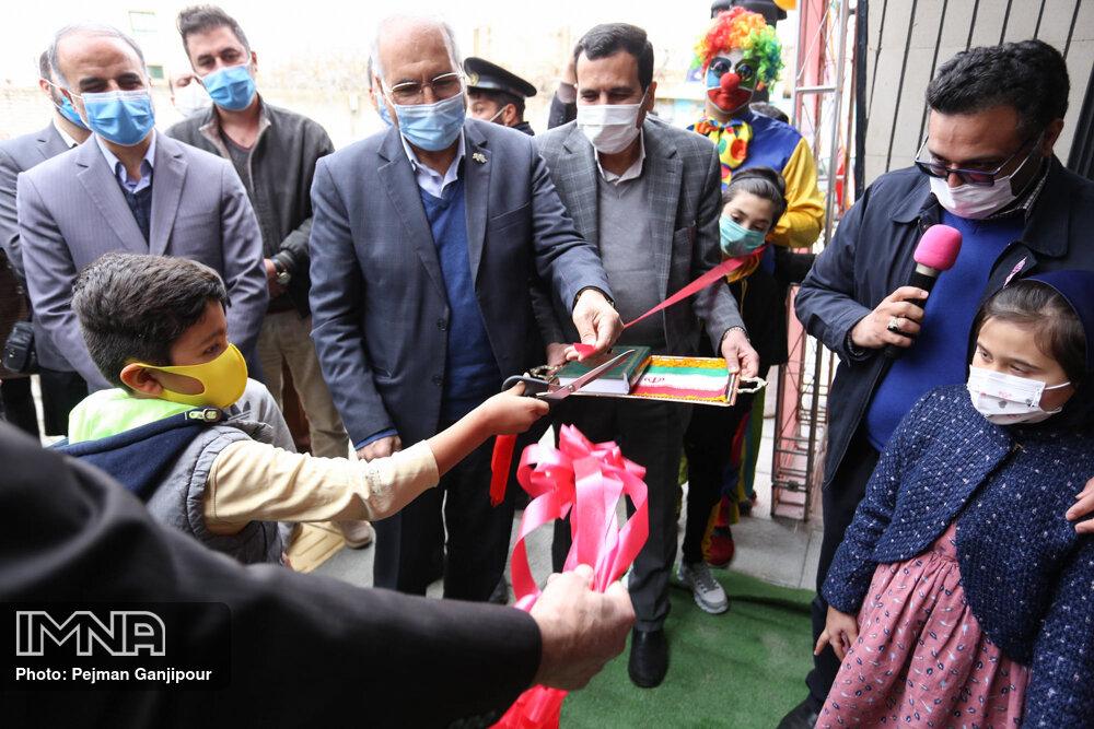 بهره برداری از پروژههای عمرانی منطقه هفت شهرداری