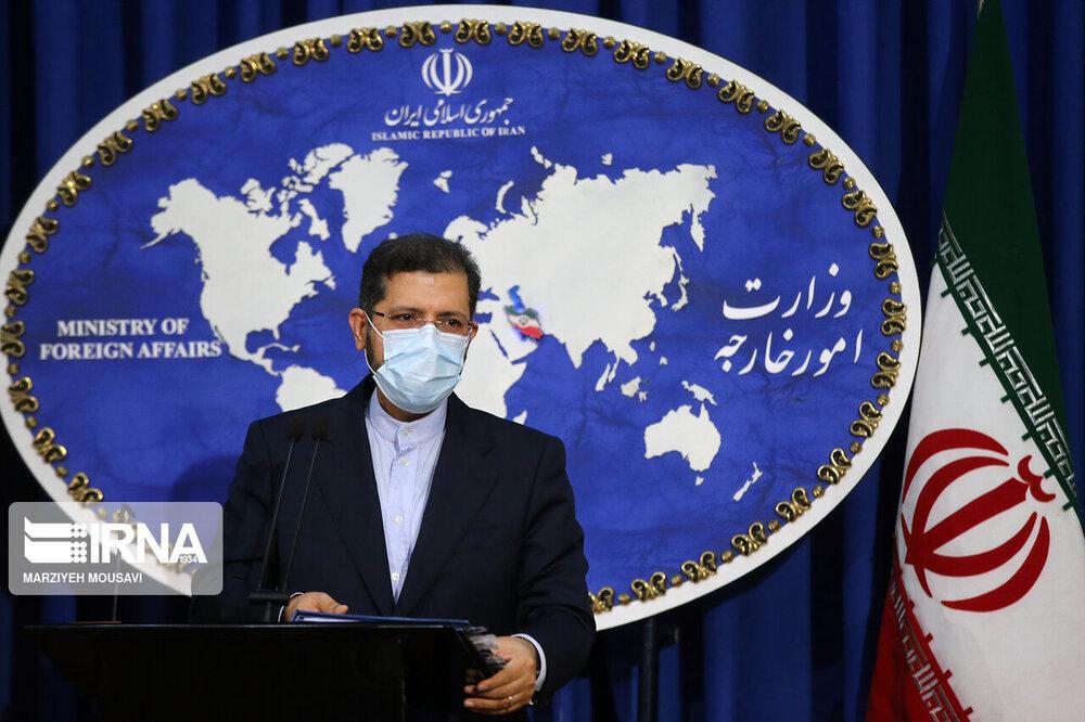 خطیب زاده: وزارت خارجه پیگیر موضوع حادثه سقوط دیپلمات سوئیسی است
