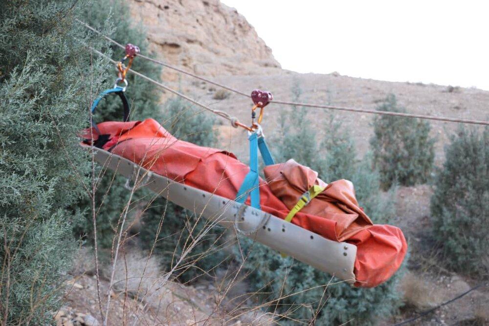 کشف جسد در منطقه قلعه دژ کوه صفه + عکس