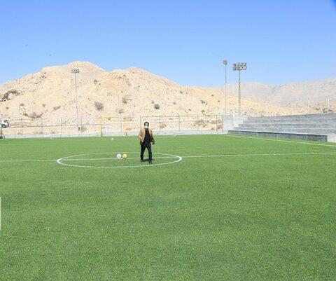 احداث ۴ زمین ورزشی در منطقه یک بندرعباس