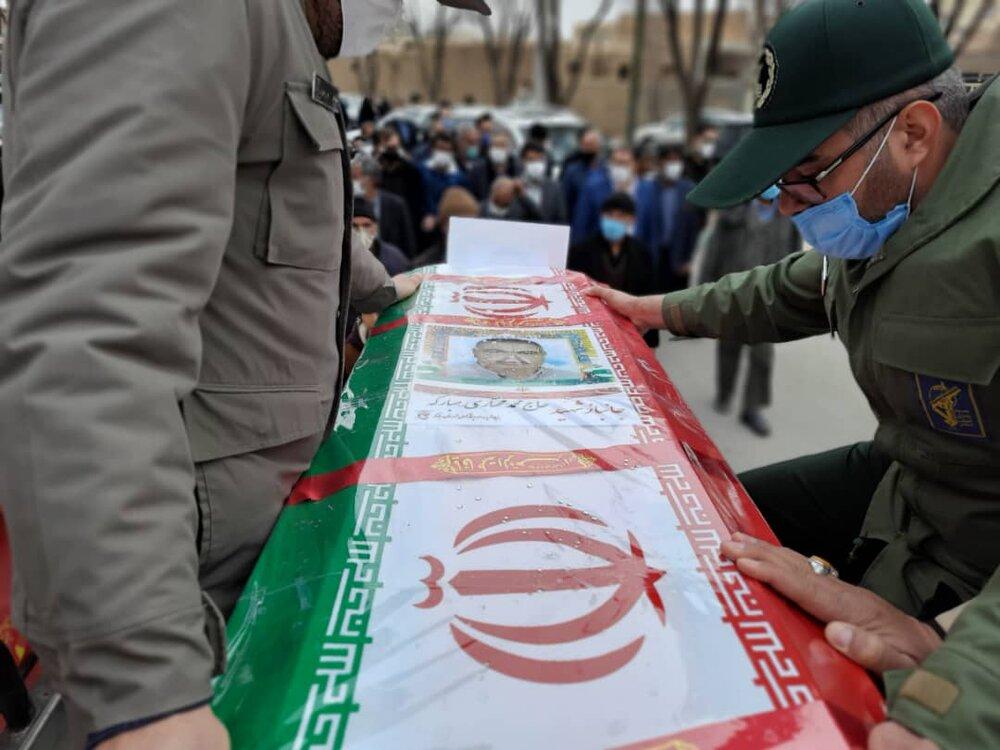 جانباز حاج محمد مختاری به همرزمان شهیدش پیوست