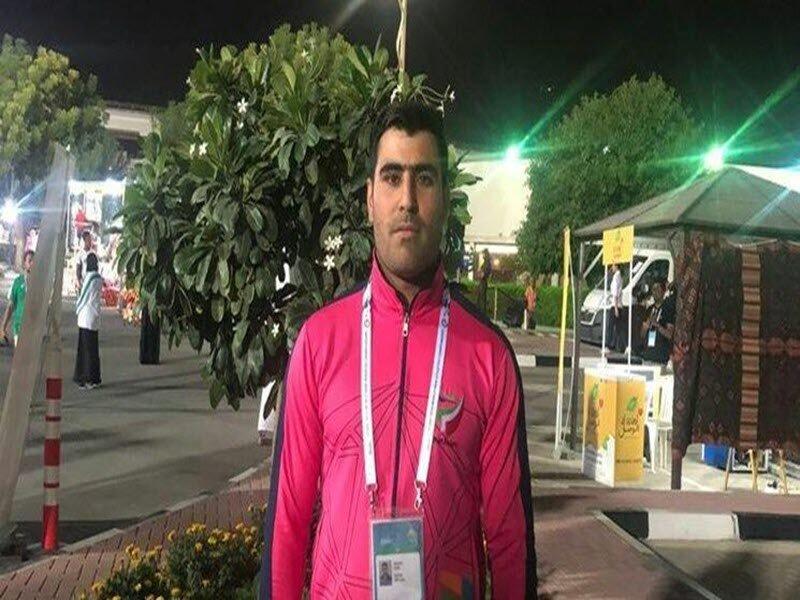 عزیزی با رکوردشکنی به مدال طلا رسید
